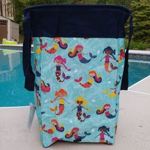 Thirty-One Mermaid Lagoon Stand Tall Bin Hamper